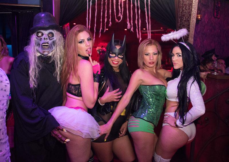 Orlando strip club halloween